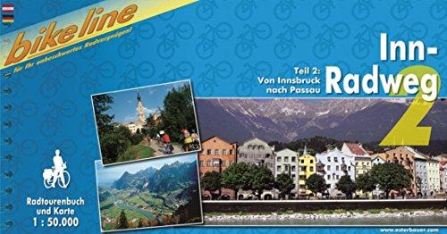 Bikeline Radtourenbuch, Inn-Radweg Teil 2: Von Innsbruck nach Passau, 1:50 000; wetterfest/reißfest; GPS-Tracks-Download