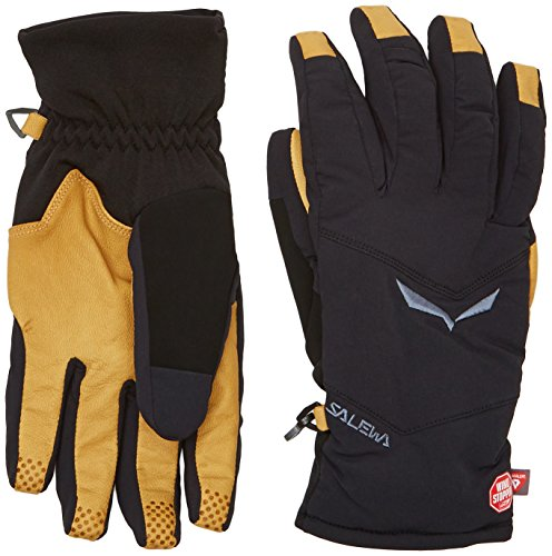 SALEWA SESVENNA (ALPHUB) WS/PRL Gloves Handschuhe, Black Out, XS