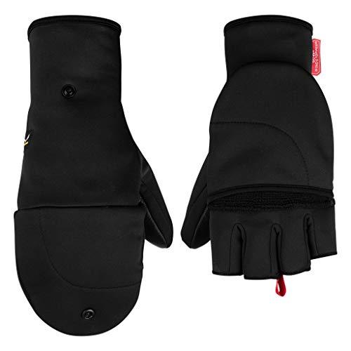 Salewa SESVENNA FOLD Back WS Gloves Handschuhe, Black Out, XS