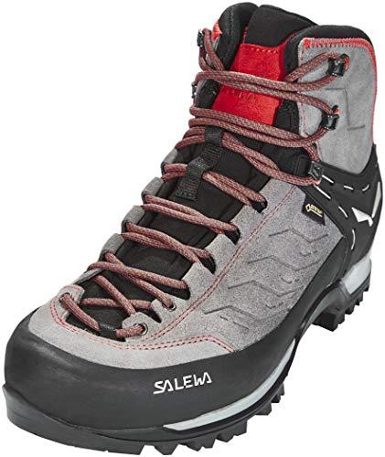 Salewa MTN Trainer Mid GTX Schuhe Herren Charcoal/Papavero Schuhgröße UK 12 | EU 47 2021