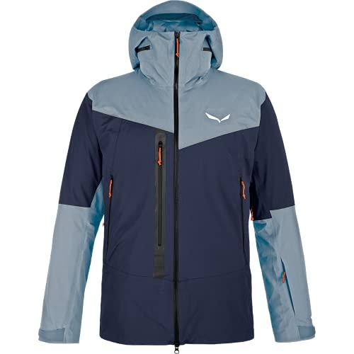 Salewa M Sella Responsive Jacket Colorblock-Blau, Herren Windbreaker, Größe L - Farbe Navy Blazer