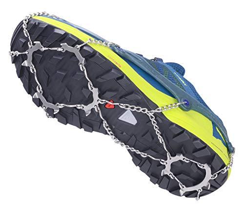 SNOWLINE Chainsen Trail V2 - Grödeln, Spikes, Schneeketten mit kurzen Zacken, Größe: XL (43-47)
