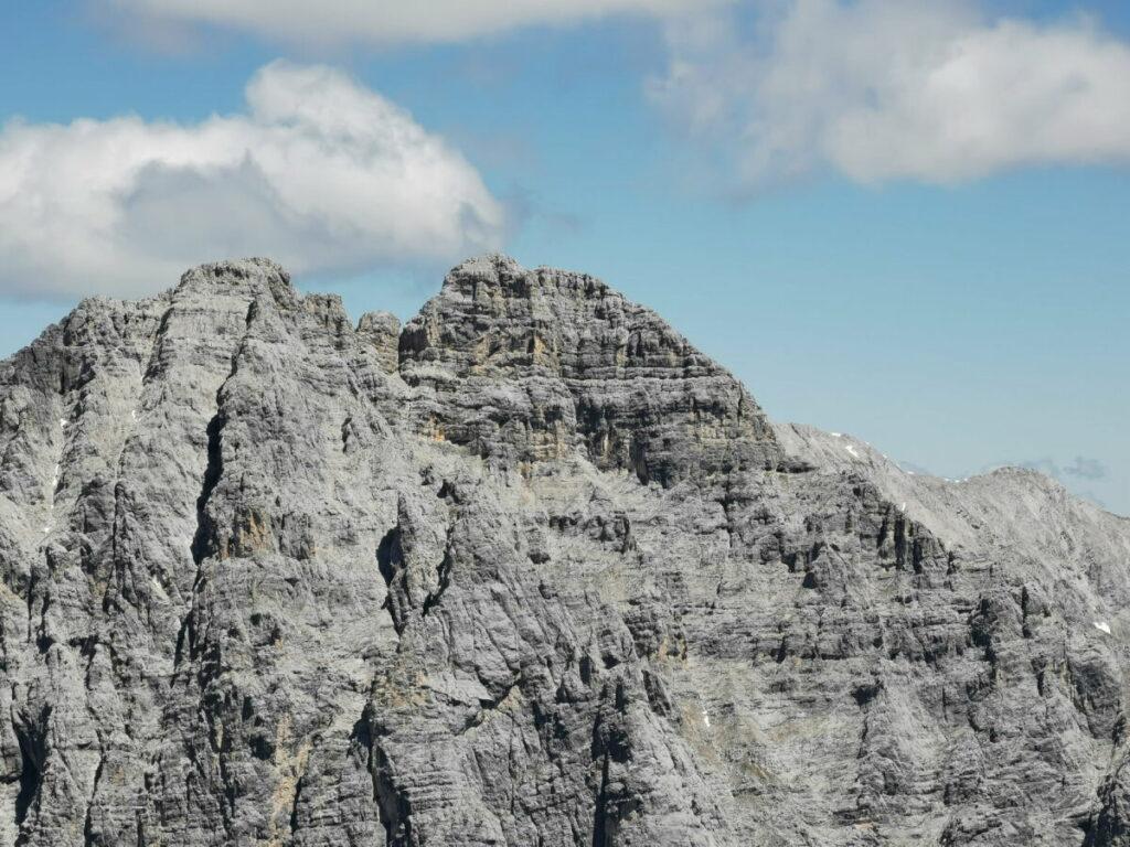 Blick auf den Öfelekopf, ein Kletterberg