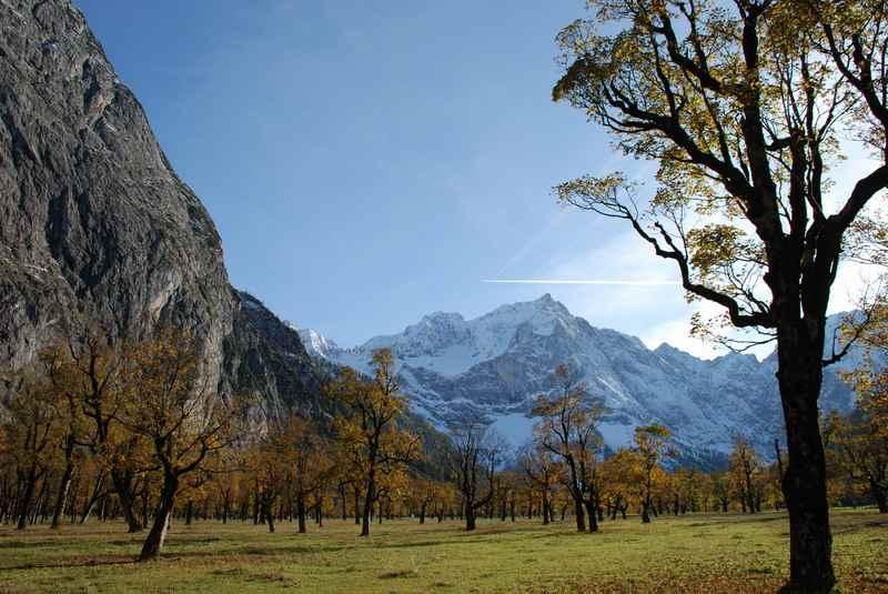 Herbsturlaub: Diese 5 Dinge lohnen im Herbst am Ahornboden im Karwendel
