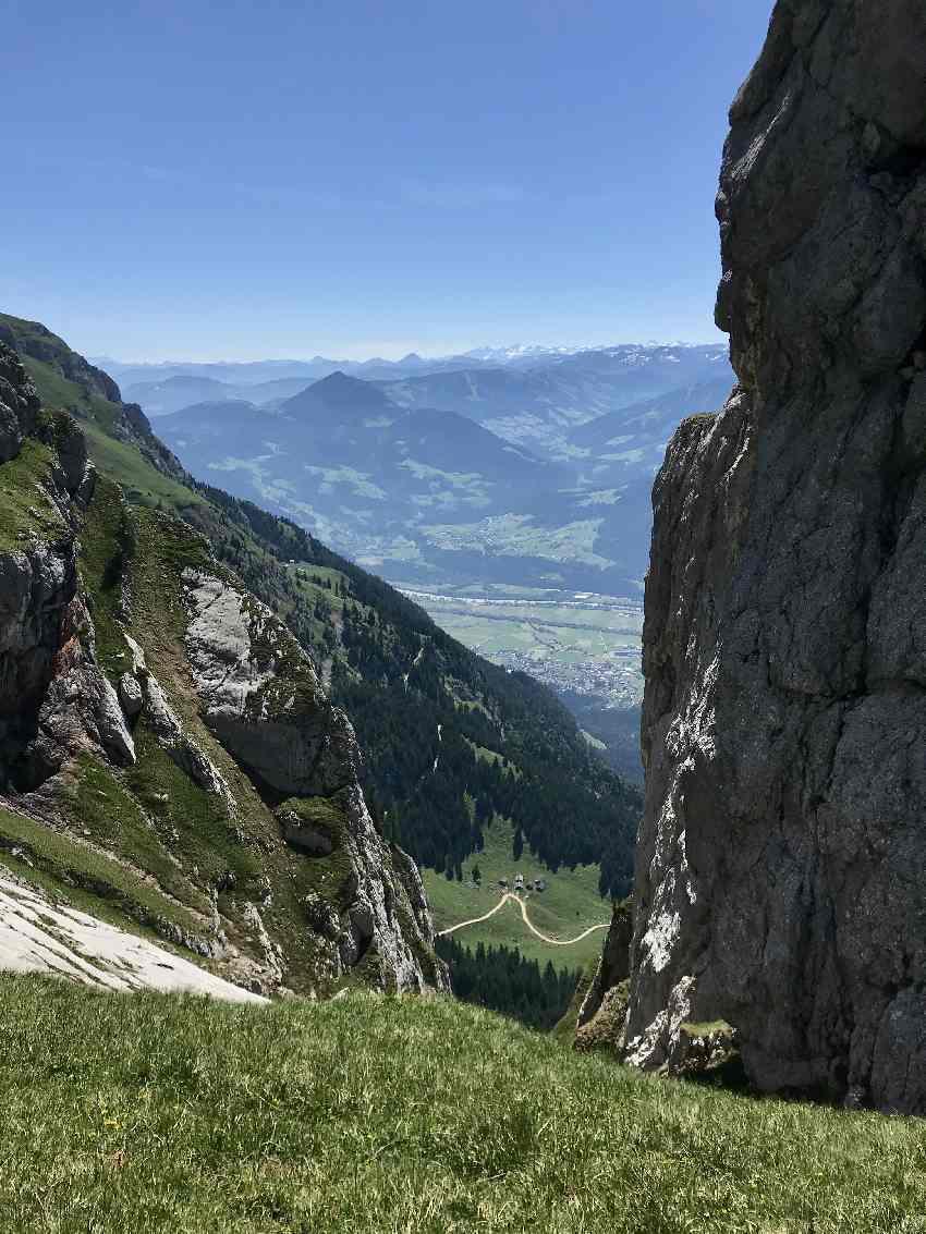 5 Gipfel Klettersteig - mit Blick ins Inntal und Zillertal