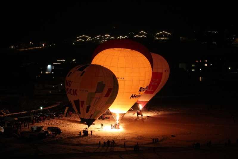 So schaut es aus, denn die Ballone in der Nacht glühen, Foto: Achensee Tourismus