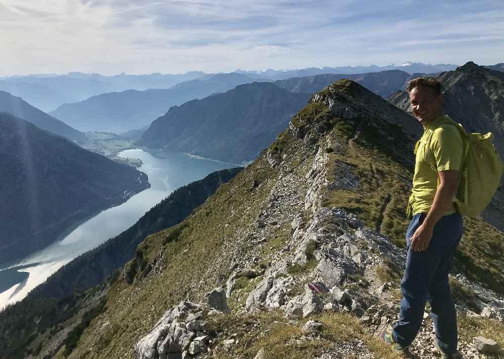 In Achenkirch auf die Seekarspitze wandern - aussichtsreiche Wanderung am Achensee