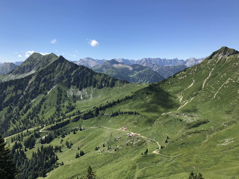 Die Achensee Hütten im Karwendel - mit der einmaligen Landschaft