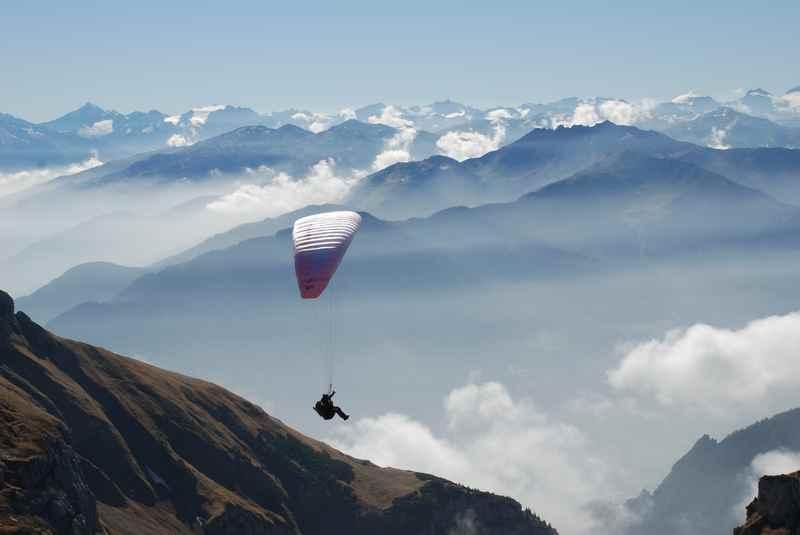 Am Achensee Paragliding im Rofan und Karwendel