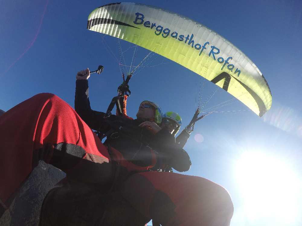 Ohne Worte - Paragliding am Achensee