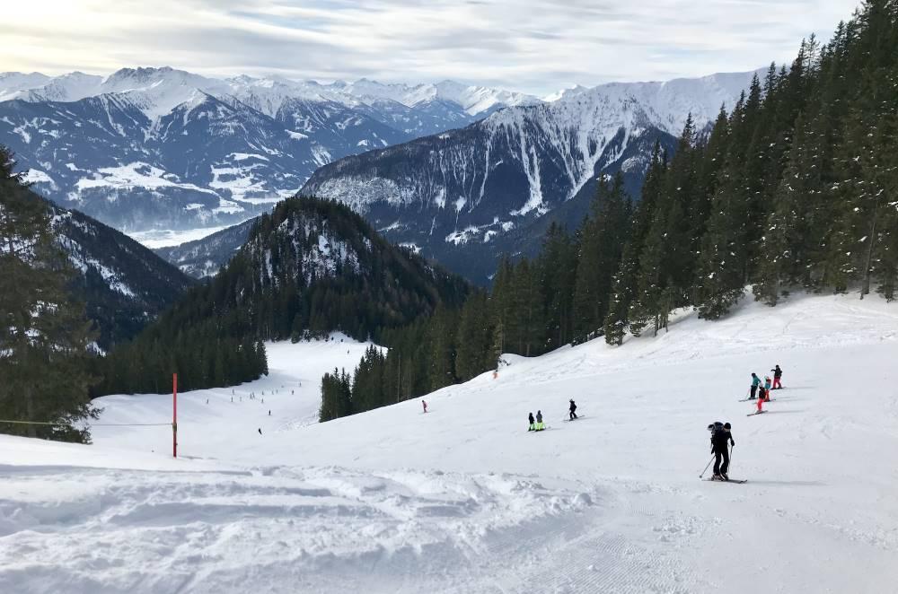 Das ist das kleine Skigebiet im Rofan