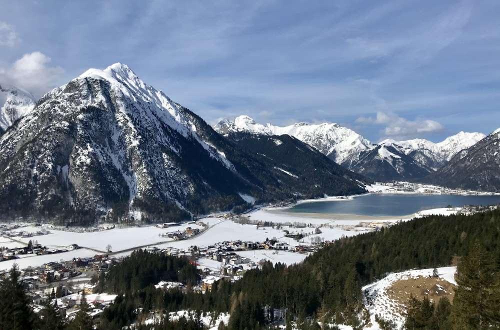 Vom Achensee führt mich die Skitour hinauf ins Rofangebirge