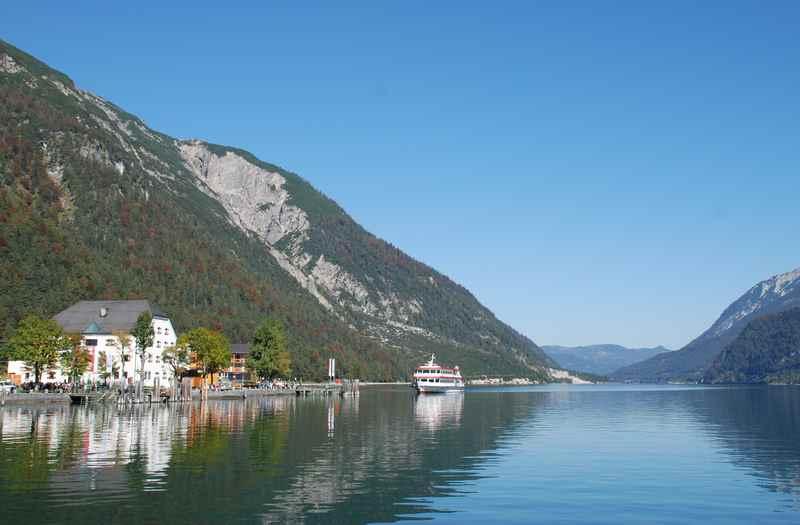 Berge und See - ein Achensee Urlaub mit Kindern in Tirol