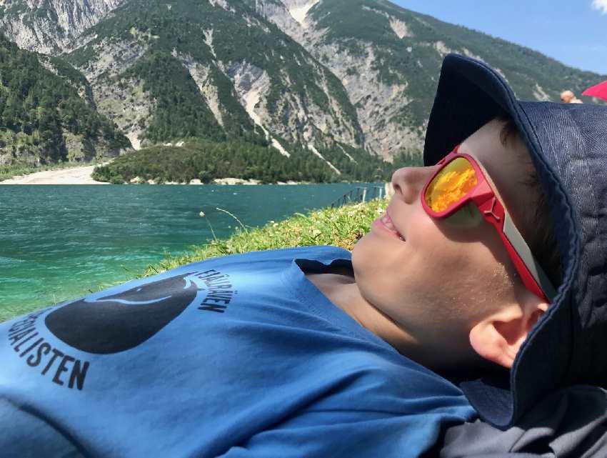 Schöne Plätze am Achensee mit Kindern