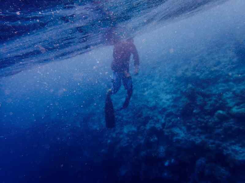 Achensee tauchen: So wie Chen Irene dieses Foto gemacht hat, stellen wir uns das Tauchen am Achensee vor