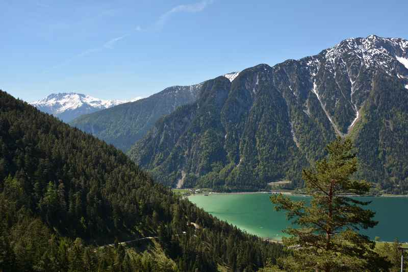 Wanderung zum Dalfazer Wasserfall mit Blick auf den Achensee