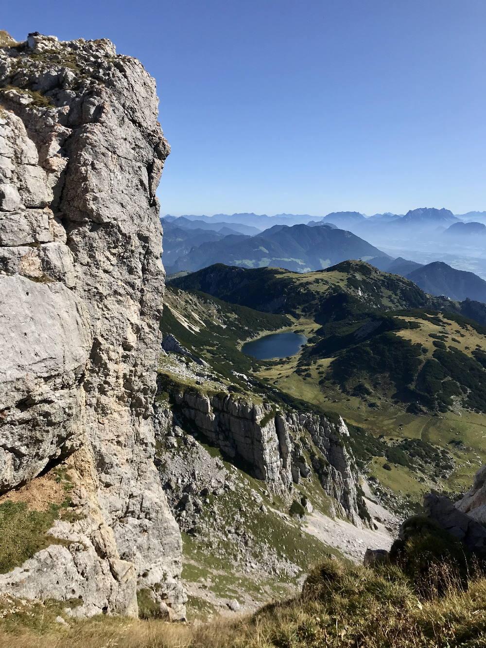 Bergtour Achensee - zum Zireiner See im Rofan