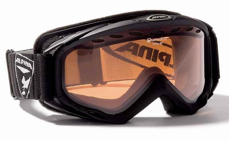 Die Alpina Skibrille - gut zum Skifahren geeignet, auch noch nach Jahren