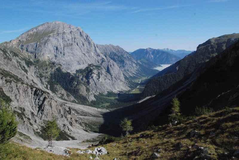 Toller August Urlaub im Karwendel - die Berge geniessen