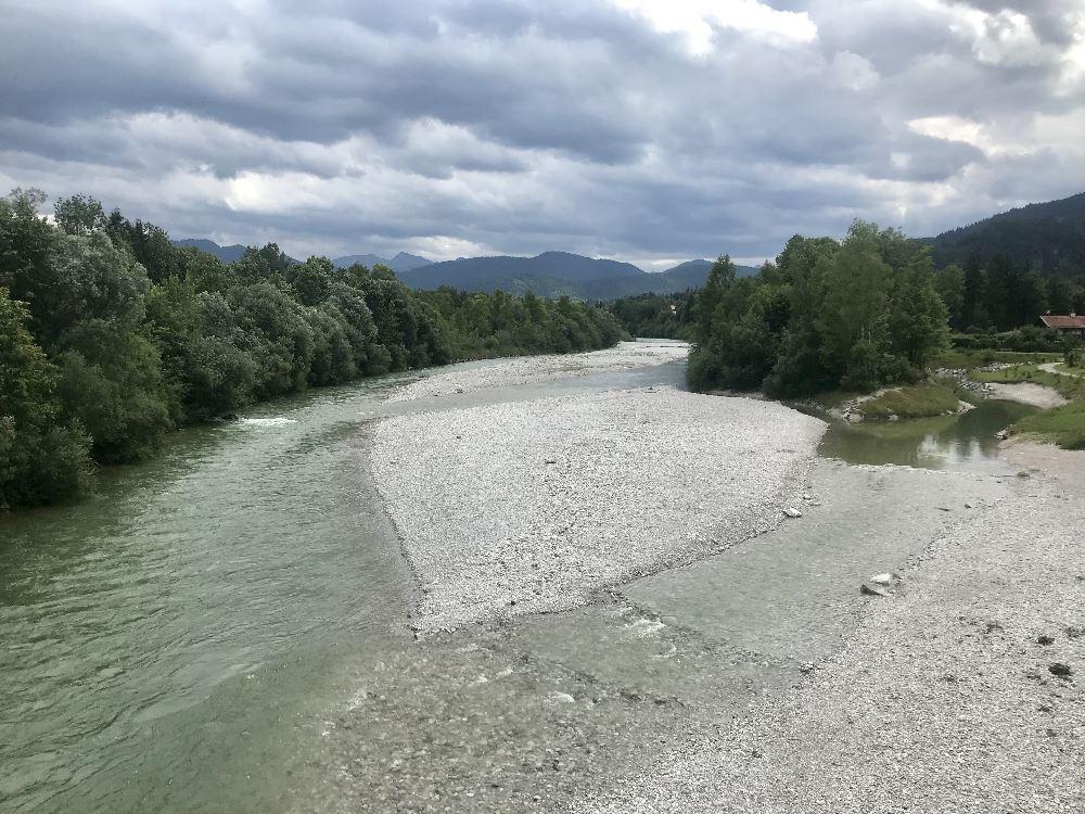 Bad Tölz wandern: An der Isar