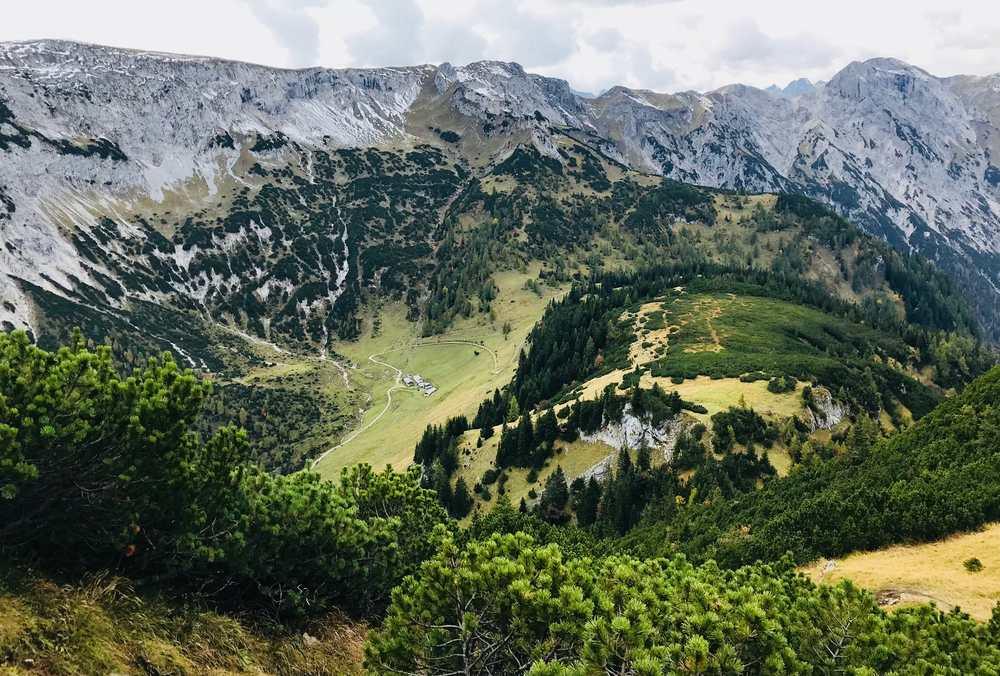 Mein Ziel der heutigen Bergtour: Vom Weissenbachsattel auf den Bärenkopf Achensee
