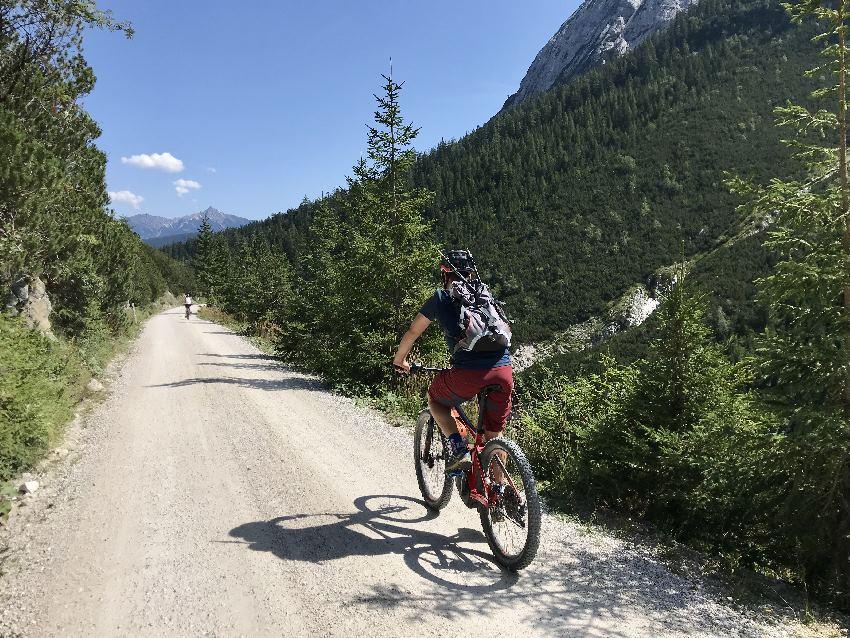 Bike and Hike Leutasch durch das Gaistal