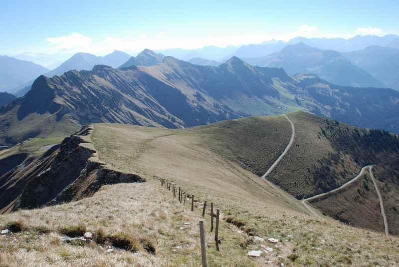 Bike und Hike auf den Juifen im Karwendel