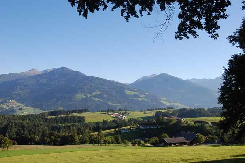 Biken in Terfens im Karwendel