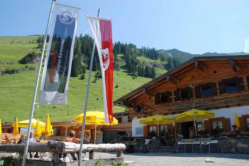 MTB Binsalm im Karwendel