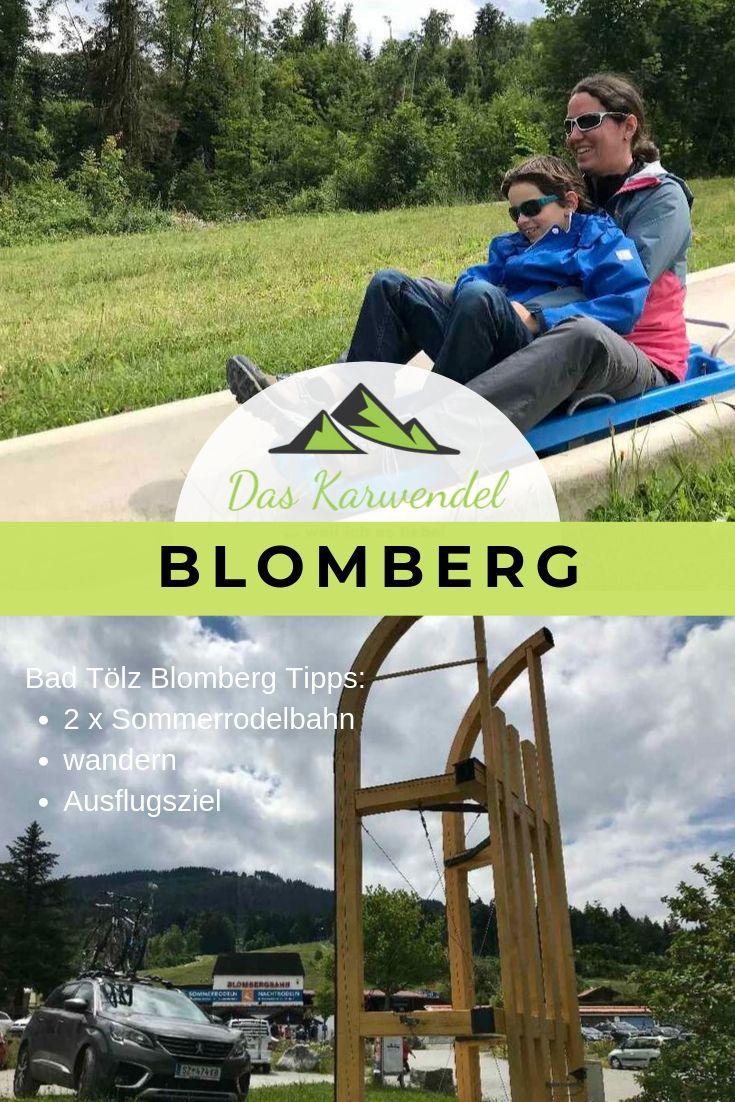 Blomberg Rodelbahn - merk dir unsere Tipps rund um den Blomberg in Bad Tölz mit diesem Pin auf Pinterest!