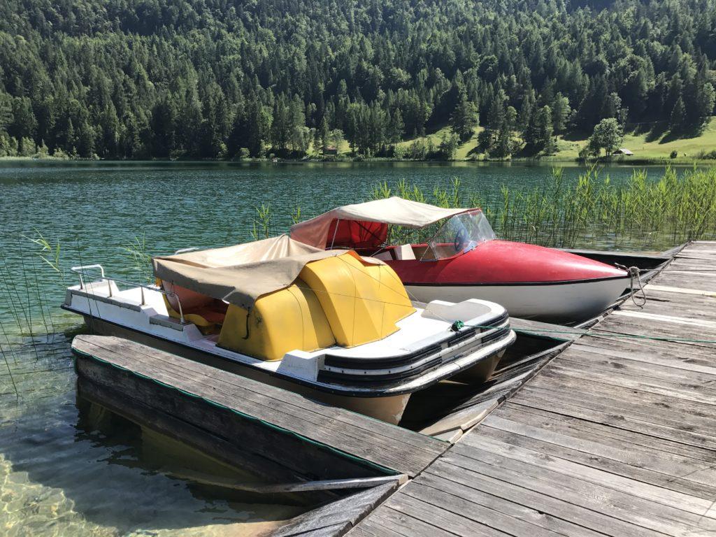 Bootfahren Lautersee oder lieber im See baden?