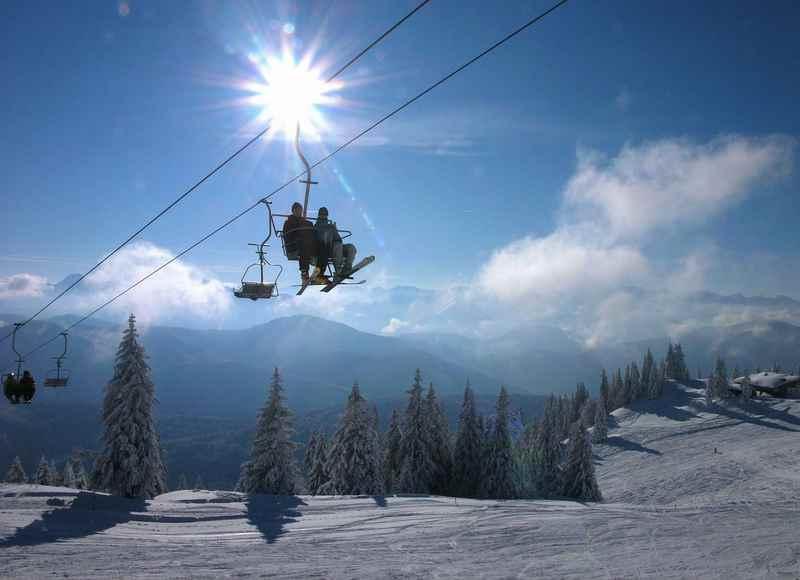 Schnell aus München in die Berge zum Skifahren - auf´s Brauneck in Lenggries, Foto: Klaus_Knirk, Brauneck Bergbahn
