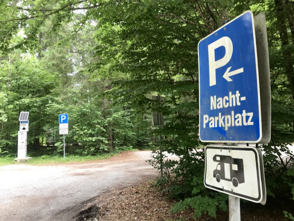 Camping Sylvensteinsee nahe Vorderriss