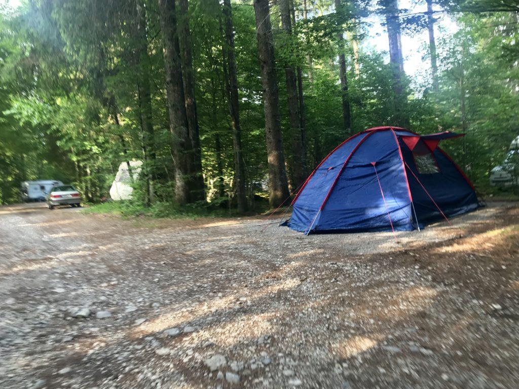 Camping Karwendel - wo ist ein Campingplatz in Hinterriss?
