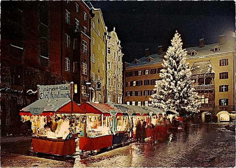 Der Christkindlmarkt in Innsbruck hat Tradition: 1973 wurde der Weihnachtsmarkt beim goldenen Dachl das erste Mal veranstaltet, Foto: Advent in Tirol