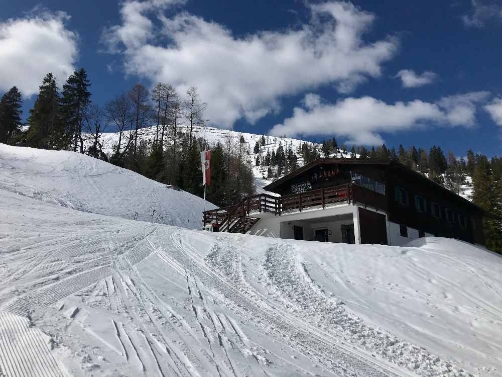 Die Gföllalm im Christlum Skigebiet