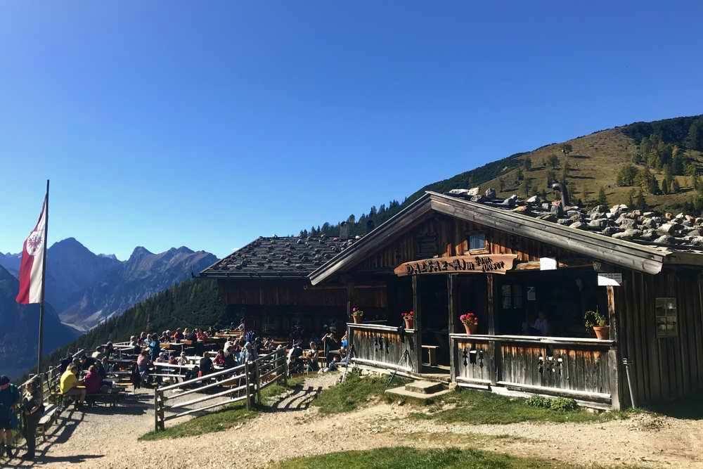 Tolle Wanderung vom Hotel St. Georg zum See auf die Dalfazalm