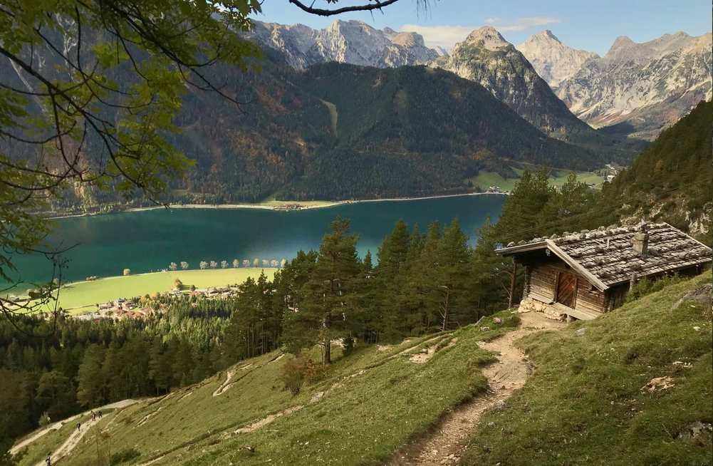 Diese Wanderung mag ich besonders in Eben am Achensee: Auf dem Weg zur Dalfazalm