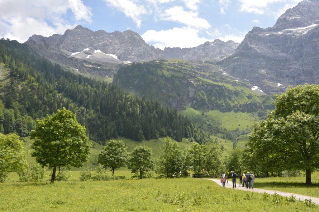 Im Naturpark Karwendel wandern