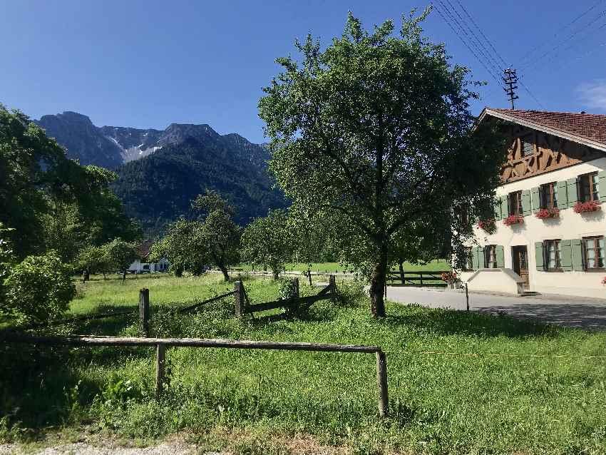 Einmal rund um´s Estergebirge mountainbiken - mit dieser tollen Idylle
