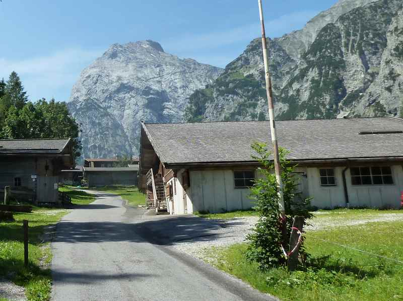 Die Falzthurnalm Pertisau im Karwendel