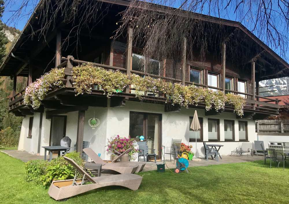 Die Achensee Ferienwohnung ist in diesem Haus in Pertisau
