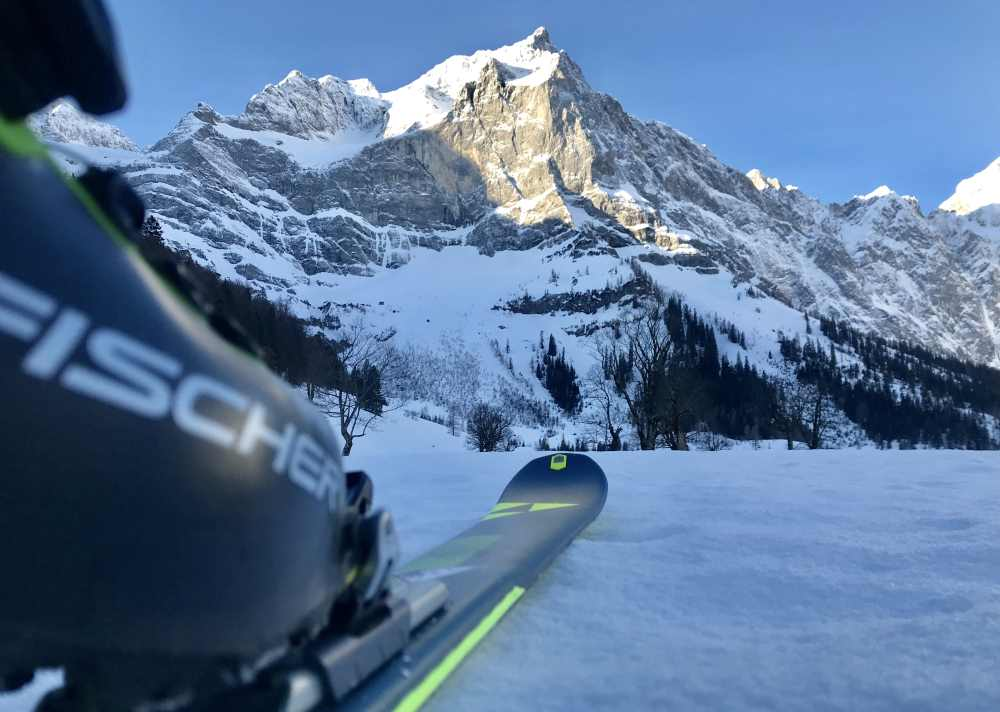 DIE Frühlingsskitour - auf den Hochglück im Karwendel
