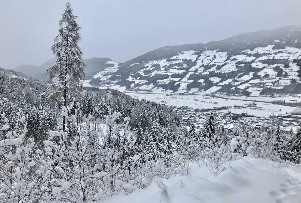 Vom Skilift ist auf dieser Aufstiegsroute nichts mehr zu sehen