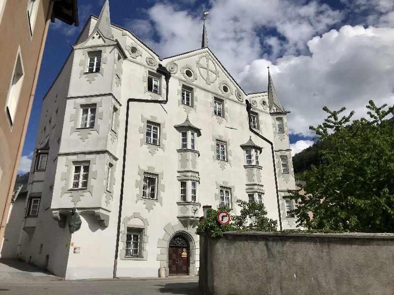 Beeindruckend in der Silberstadt: Das Fuggerhaus Schwaz