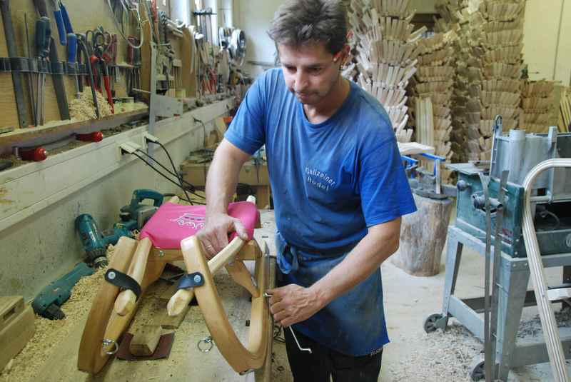 Gallzeiner Rodel - werden nach Maß gefertigt