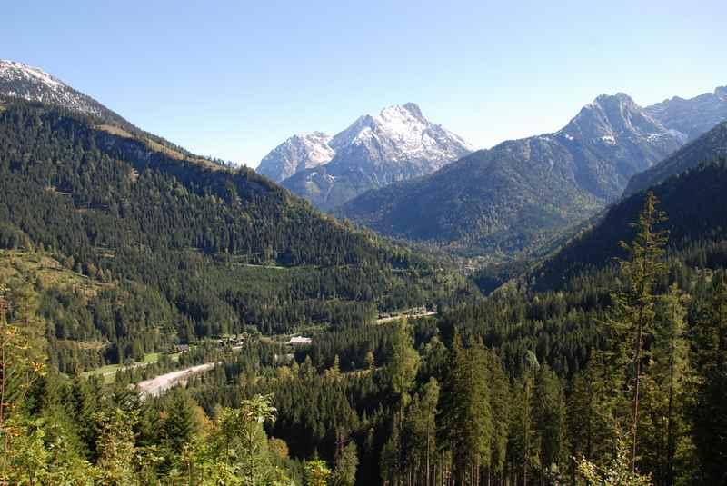 Die Garberlalm im Rißtal, Karwendelgebirge