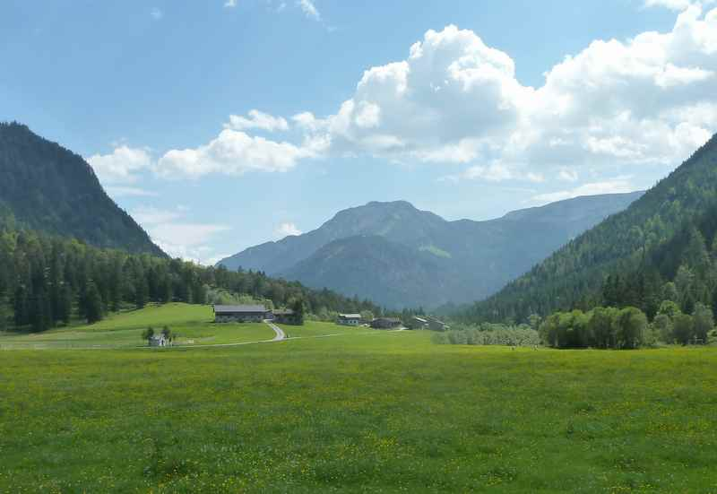 Vom Achensee zur Gernalm in Pertisau wandern, im Naturpark Karwendel