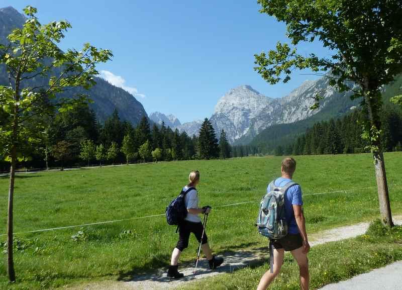 Gernalm Wanderung: Vom Achensee in Pertisau wandern zur Gern Alm im Falzthurntal
