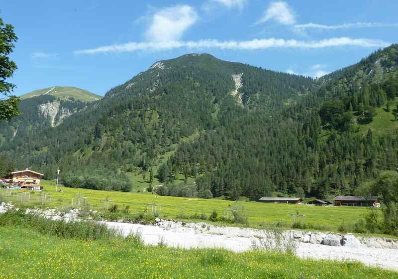 Gernalm Wanderung: Die Almwiesen im Gerntal rund um die Pletzachalm am Achensee